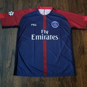 Paris Saint Germain men's soccer Jersey